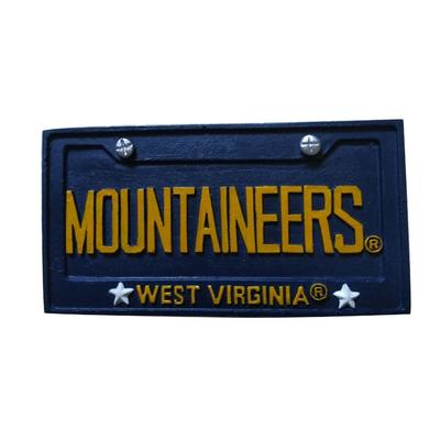 West Virginia Seasons Design License Plate Ornament