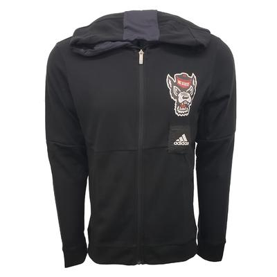 NC State Adidas Swingman NCAA Warmup Jacket