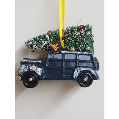 West Virginia Seasons Design Van Ornament
