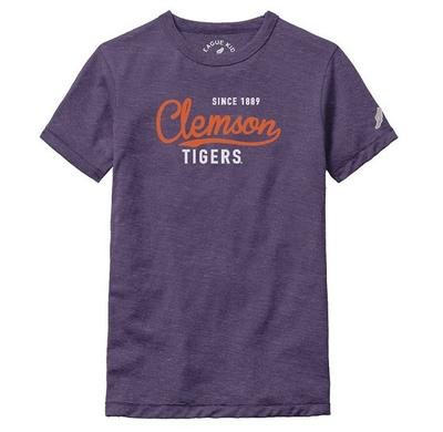 Clemson League Girls' Victory Falls Tee