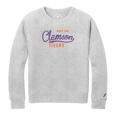 Clemson League Girls' Raglan Crew Sweatshirt