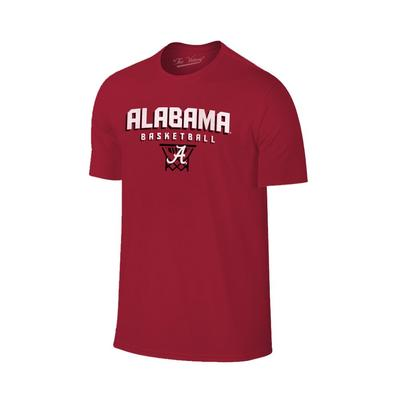 Alabama Basketball with Net Tee Shirt