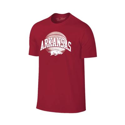 Arkansas Arch with Basketball Tee Shirt
