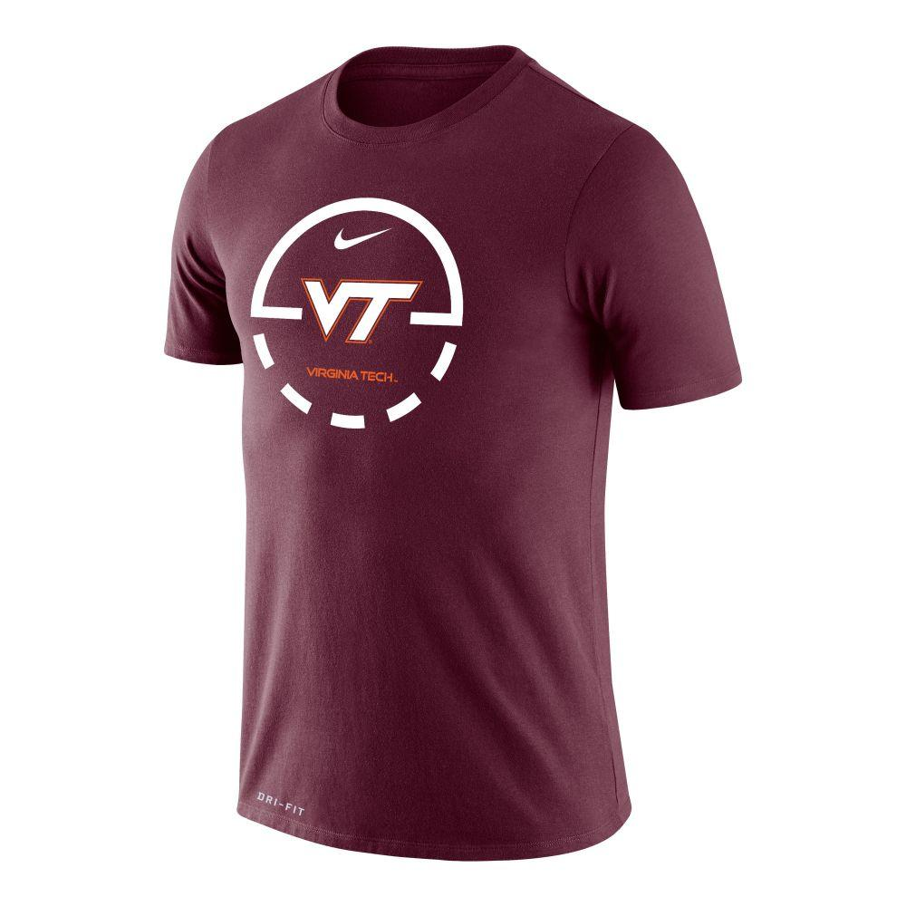 Virginia Tech Nike Legend Key 2.0 Tee