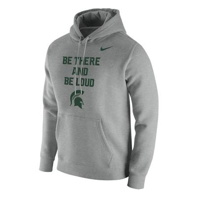 Michigan State Nike Club Mantra Hood