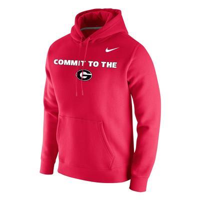 Georgia Nike Club Mantra Hood