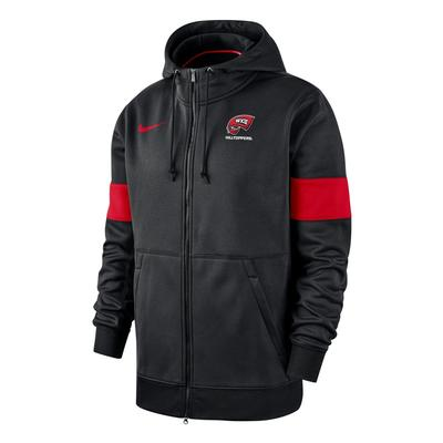 Western Kentucky Nike Therma Full Zip Hoodie