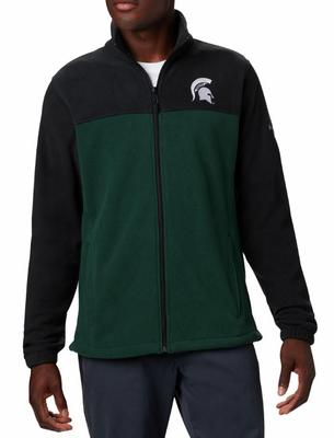 Michigan State Columbia Men's Flanker III Fleece Jacket - Tall Sizing