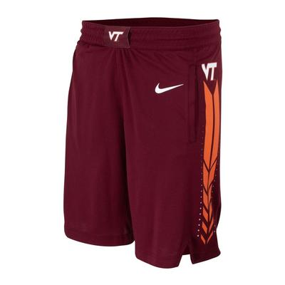Virginia Tech Nike Basketball Flex Rep Shorts