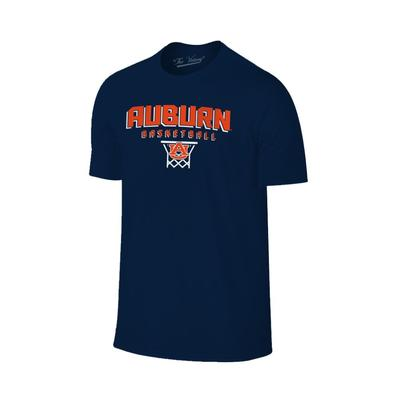Auburn Basketball with Net Tee Shirt