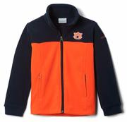 Auburn Columbia Youth Full Zip Fleece Jacket