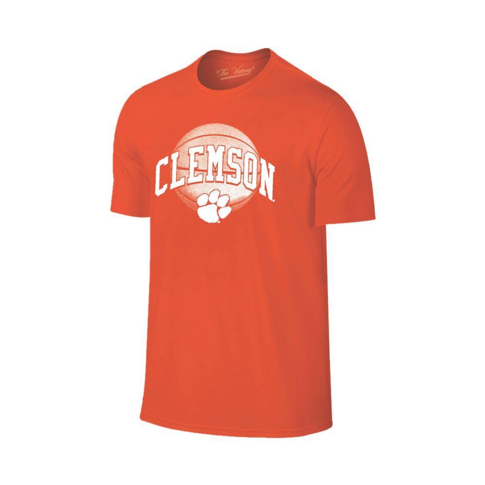 Clemson Arch Basketball Tee Shirt