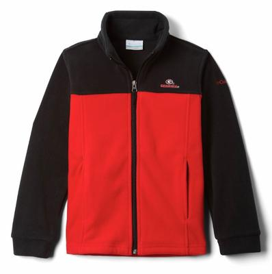 Georgia Columbia Youth Full Zip Fleece Jacket