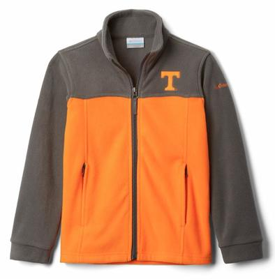 Tennessee Columbia Youth Full Zip Fleece Jacket