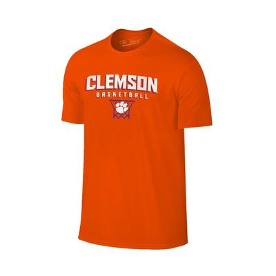 Clemson Basketball with Net Tee Shirt