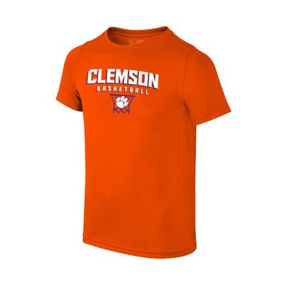 Clemson Youth Basketball with Net Tee Shirt
