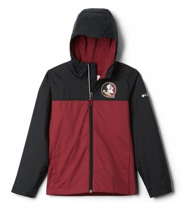 Florida State Columbia Youth Fleece Lined Rain Jacket