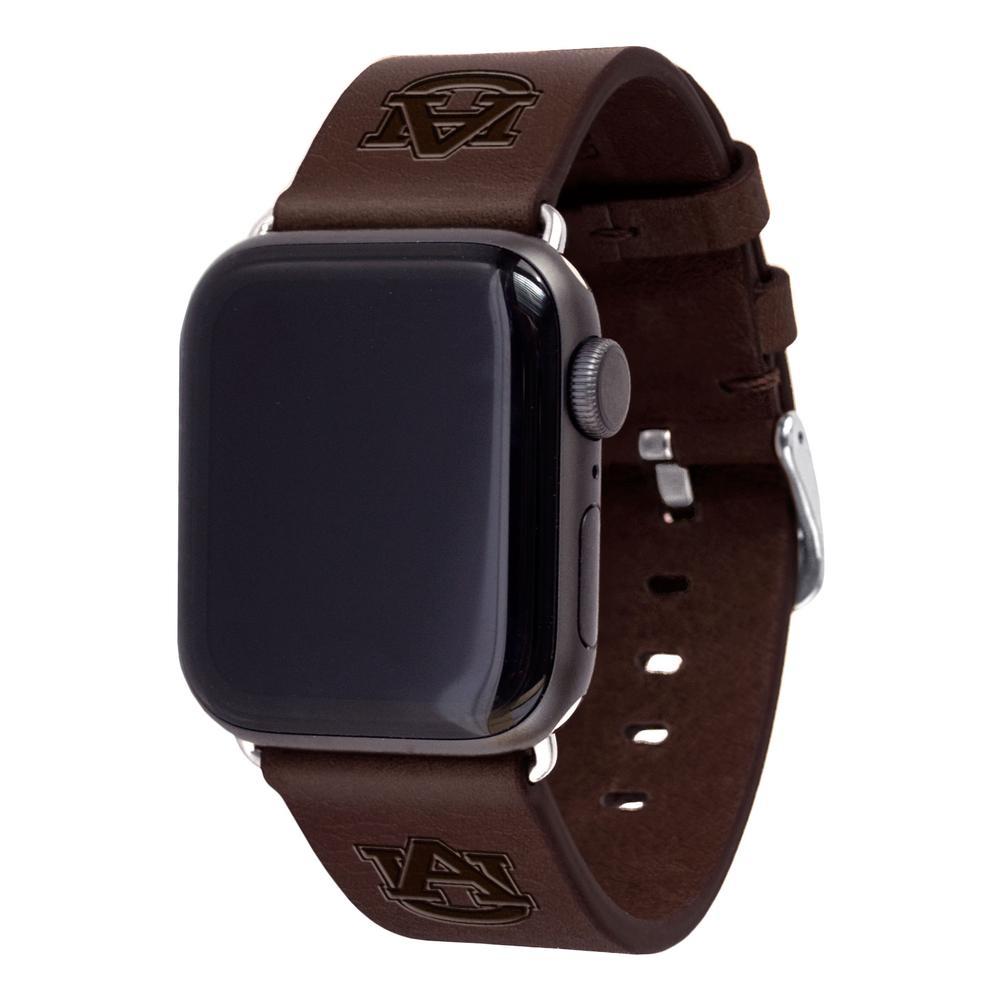 Auburn Apple Watch Brown Band 42/44 Mm M/L