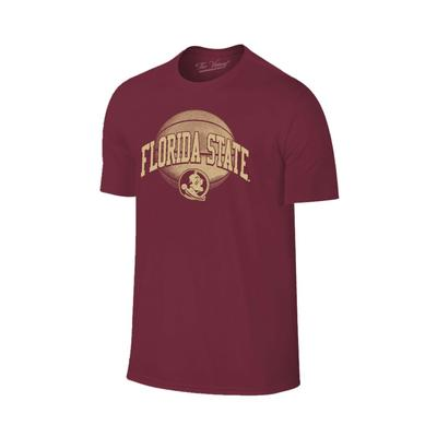 Florida State Arch Basketball Tee Shirt