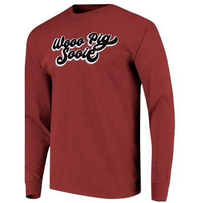 Arkansas Retro Script L/S Tee