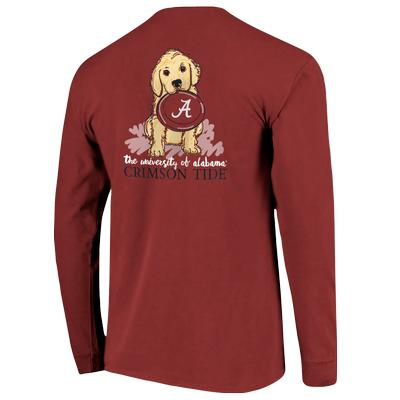 Alabama Comfort Colors L/S Frisbee Dog Tee
