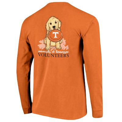 Tennessee Comfort Colors L/S Frisbee Dog Tee