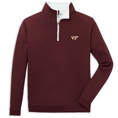 Virginia Tech Peter Millar Perth Quarter-Zip
