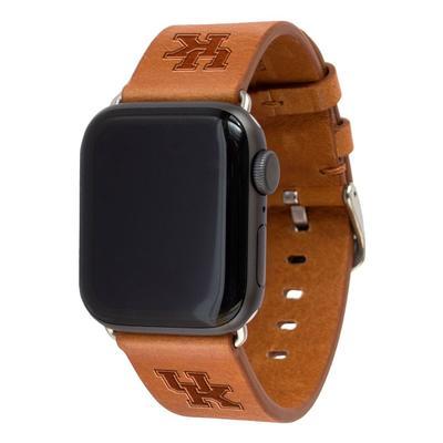 Kentucky Apple Watch Tan Band 42/44 MM M/L