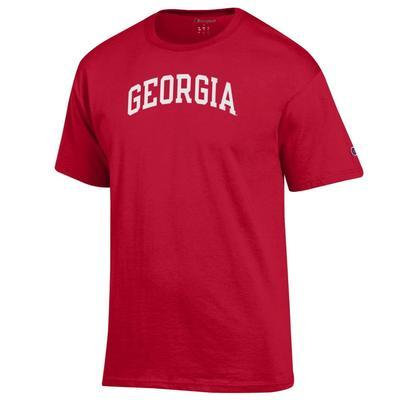 Georgia Arch Logo Tee Shirt