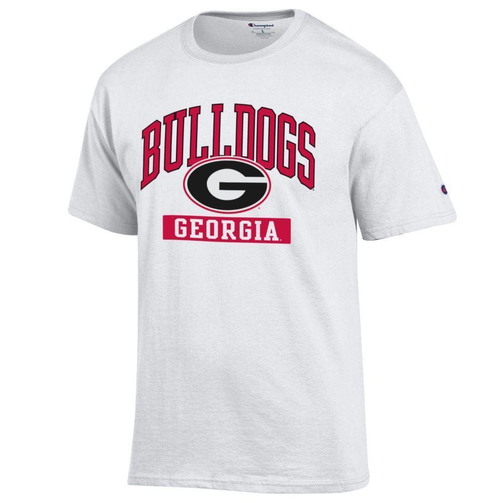 Georgia Arch Bulldogs With G Logo Tee Shirt