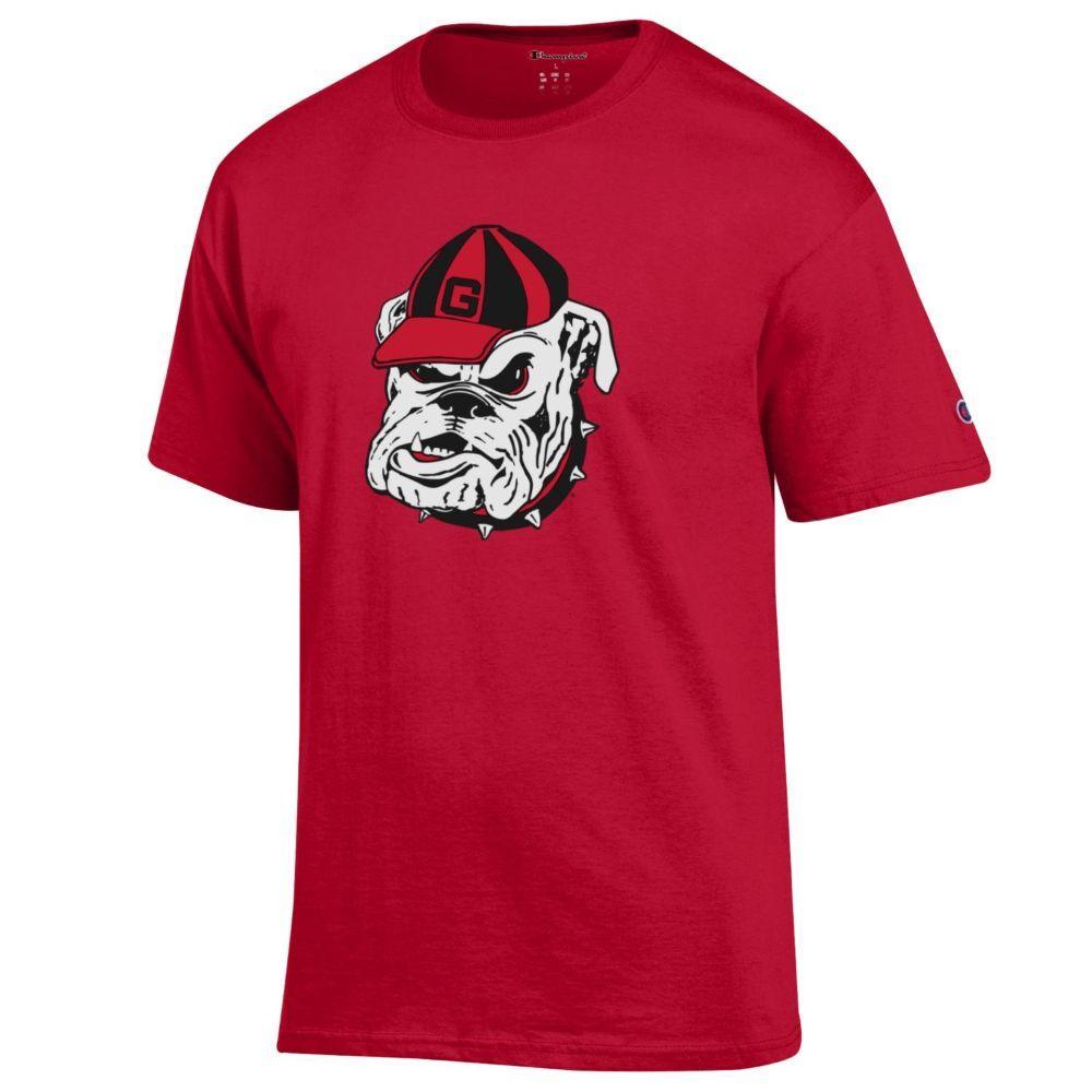 Georgia Giant Bulldog Head Logo Tee Shirt