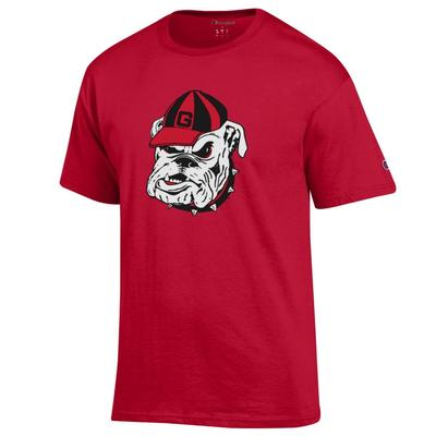 Georgia Giant Bulldog Head Logo Tee Shirt