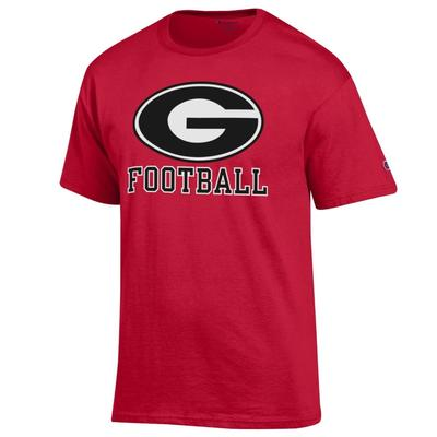 Georgia Giant Circle G Football Tee Shirt