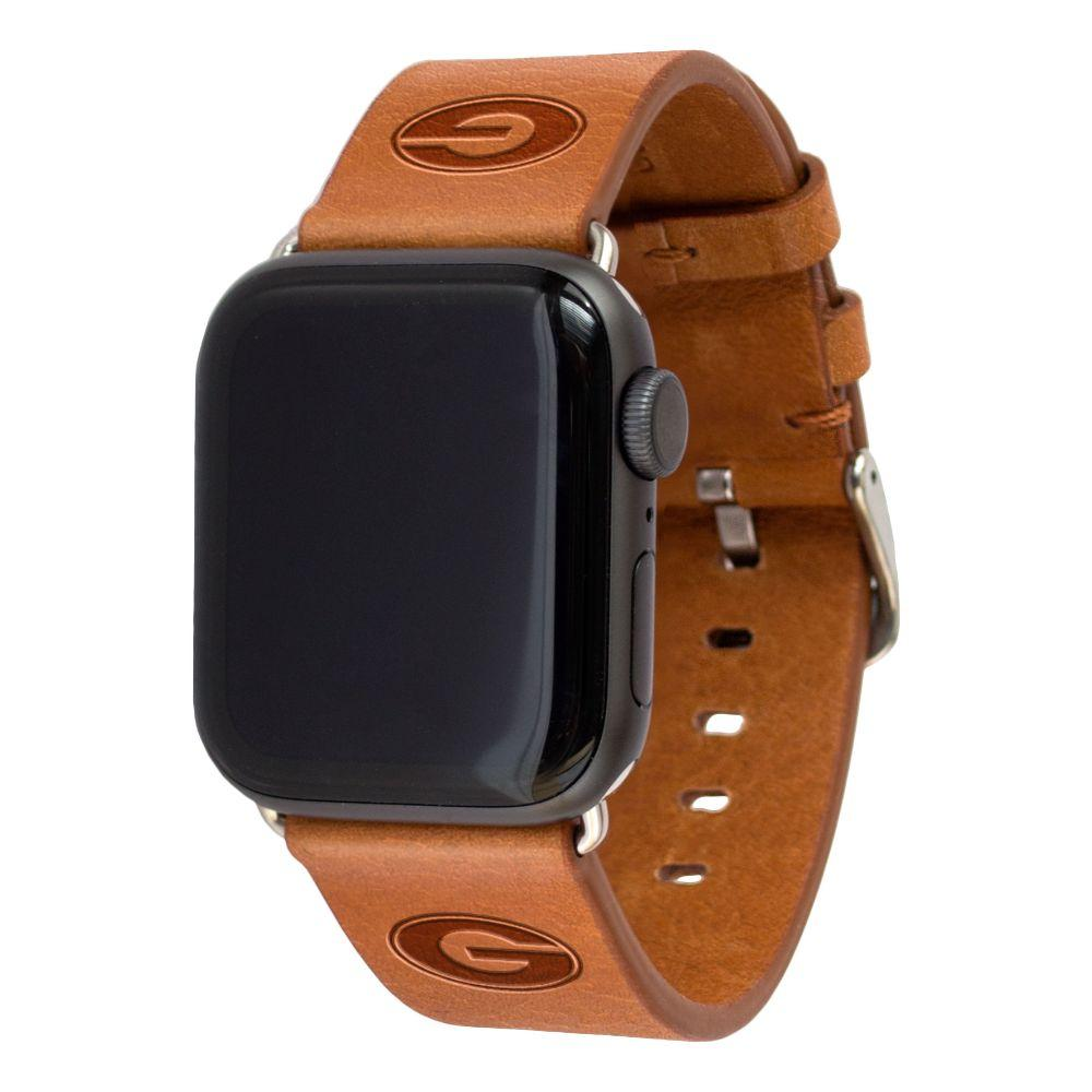Georgia Apple Watch Tan Band 38/40 Mm M/L