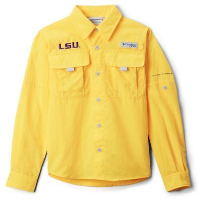 LSU Columbia Youth Bahama Long Sleeve Shirt