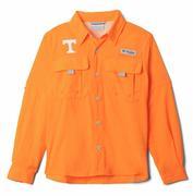 Tennessee Columbia Youth Bahama Long Sleeve Shirt