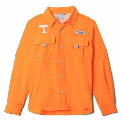 Tennessee Columbia Youth Bahama Long Sleeve Shirt