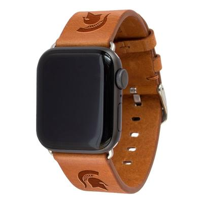 Michigan State Apple Watch Tan Band 42/44 MM M/L