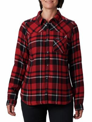 Alabama Columbia Women's Flare Gun Flannel