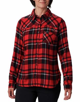 Georgia Columbia Women's Flare Gun Flannel