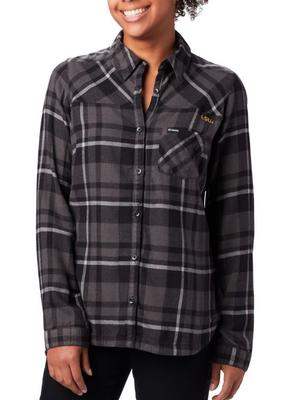 LSU Columbia Women's Flare Gun Flannel