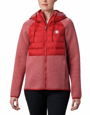 Alabama Columbia Women's Northern Comfort Hybrid Hoodie