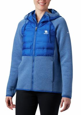 Kentucky Columbia Women's Northern Comfort Hybrid Hoodie