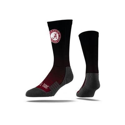 Alabama Strideline Premium Sublimated Crew Socks