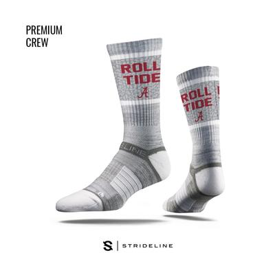 Alabama Strideline Premium Crew Socks