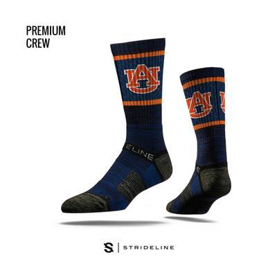 Auburn Strideline Premium Crew Socks