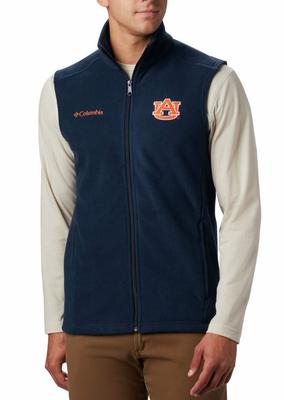Auburn Columbia Men's Flanker Fleece Vest