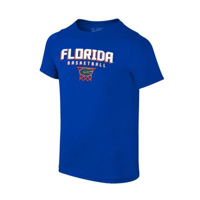 Florida Youth Basketball with Net Logo Tee Shirt