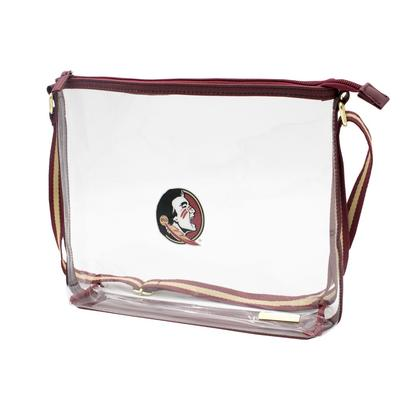 FSU Capri Designs FSU Clear Simple Tote