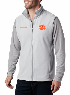 Clemson Columbia Men's Flanker Fleece Vest